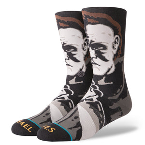 Stance Socks Mens Black Michael Myers Legends of Horror
