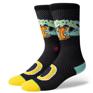 Stance Basketball Socks Monstars Jersey Black