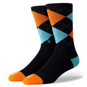 Stance Socks ARGYLE ARROWS Black