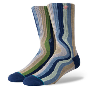 Stance Socks Drip Out Multi