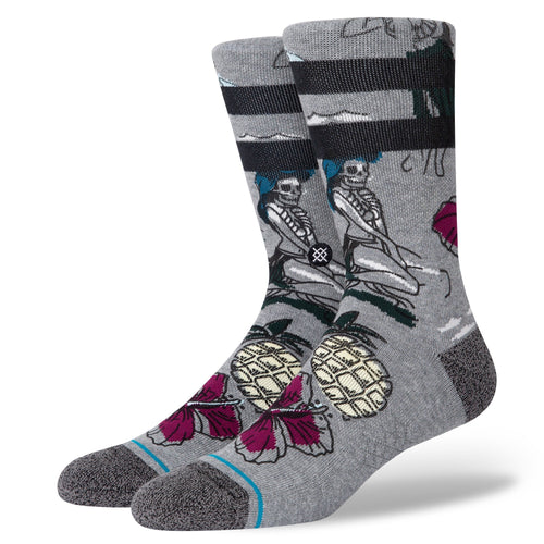Chaussettes Stance - HAUNTED HULA - Gris