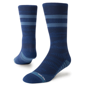Stance Socks Training Uncommon Solids Crew Navy
