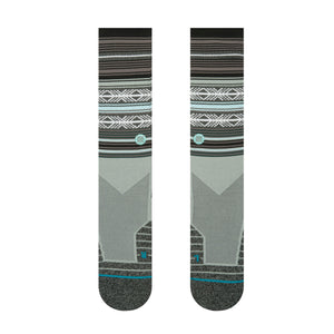 STANCE MAHALO ATHLETIC SOCK IN GREY