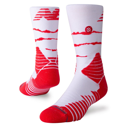 Stance Socks Omnius Shred White/Red