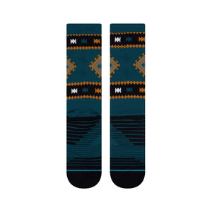 Stance Socks WESTERLY CREW Deep Teal