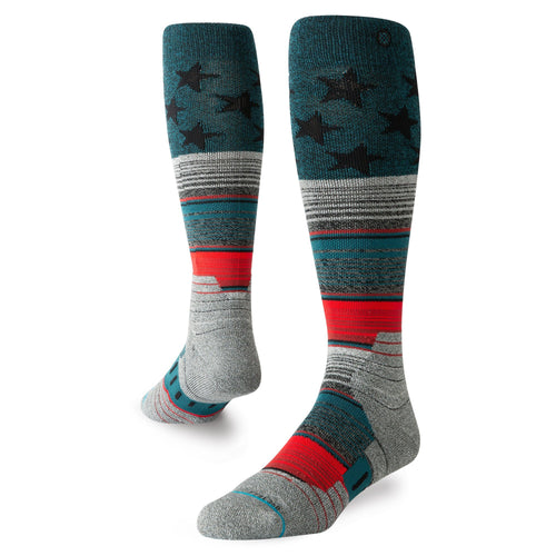 Stance Socks STAR FADE Green