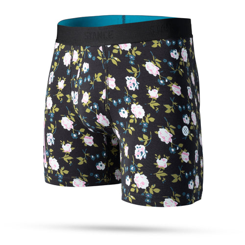 Stance Underwear Ditzy Boxer Brief Black