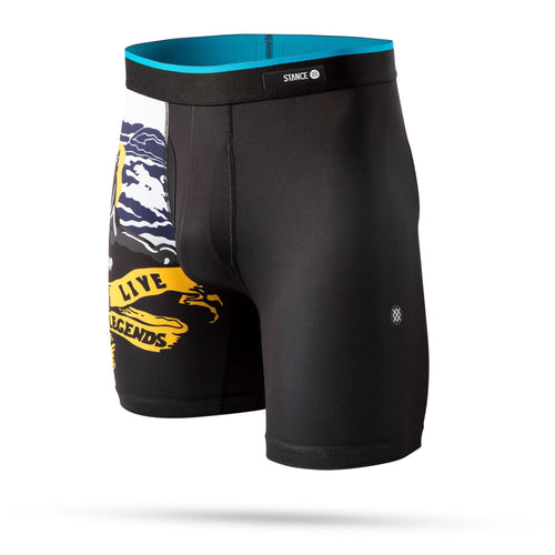 Stance Underwear Mens HARLEY ROAM BOXER BRIEF Black