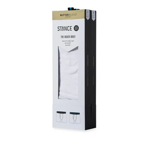 Stance Underwear STAPLE 6in 2 PACK White