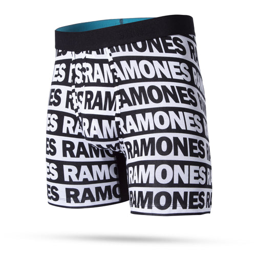 Stance Underwear THE RAMONES WHOLESTER Black