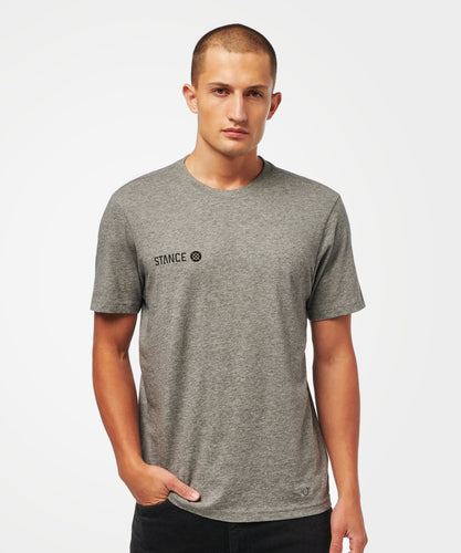 Stance T-shirts Eon Dark grey heather