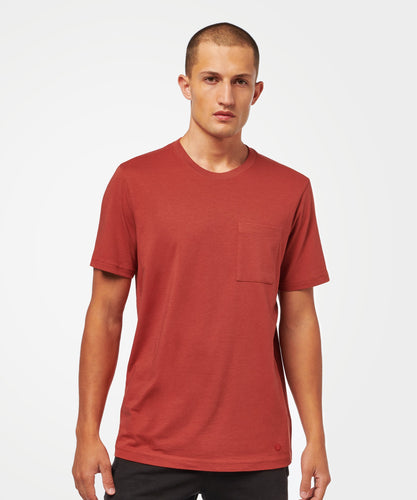 Stance Socks SHELTER POCKET T-SHIRT Dark Red