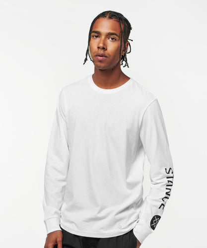 Stance Longsleeve Basis in Weiß