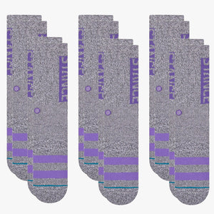 Stance Socks OG 6 Pack Grey Heather