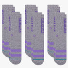 Load image into Gallery viewer, Stance Socks OG 6 Pack Grey Heather