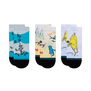Stance Socks DR. SEUSS 3 PACK TODDLER Multi
