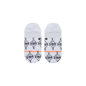 Chaussettes Stance - LOOK THROUGH - Blanc