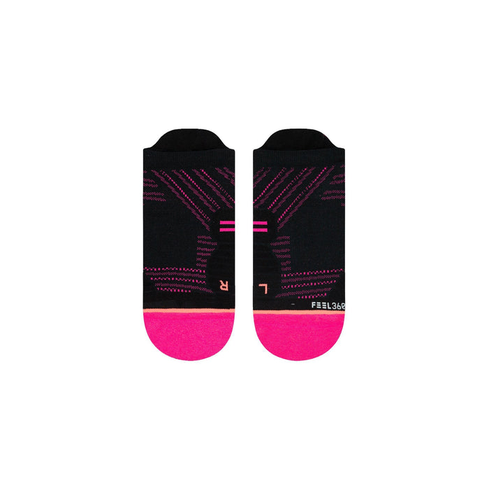 Stance Cycling Socks Fluro Tab Pink