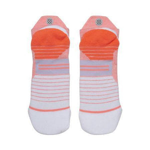 Stance Socks Uncommon Solids Run Tab Womens Coral