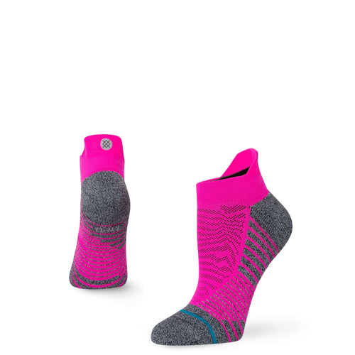 Chaussettes Stance - VOLUME TAB - Rose fluo