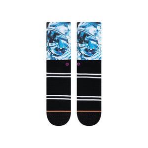 Stance-Socken Thoughts Of Others in Schwarz