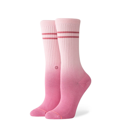 Chaussettes Stance - UNCOMMON DIP CREW - Rose