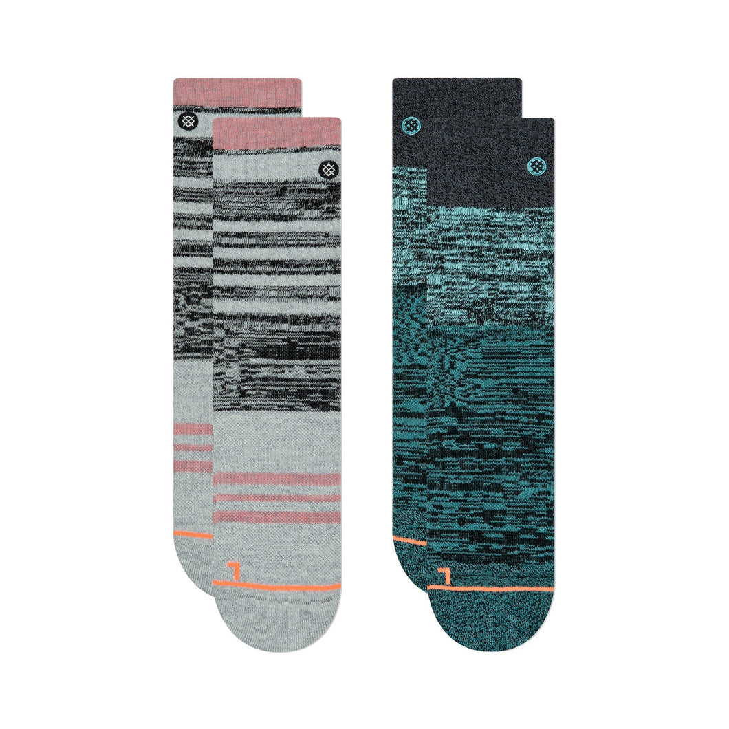 Stance Hiking Socks Women's Outdoor 2 Pack Multi
