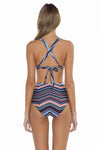 Adelle Lacy Scoop Neck Bikini Top back