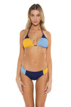 Block Party Cari Triangle Bikini Top NAS Front