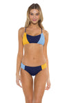 Block Party Gidget Bralette Bikini Top NAS Front
