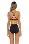 Block Party Gidget Bralette Bikini Top Back