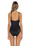 Color Splash Kate One Piece Black Back