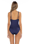 Color Splash Kate One Piece Navy Back