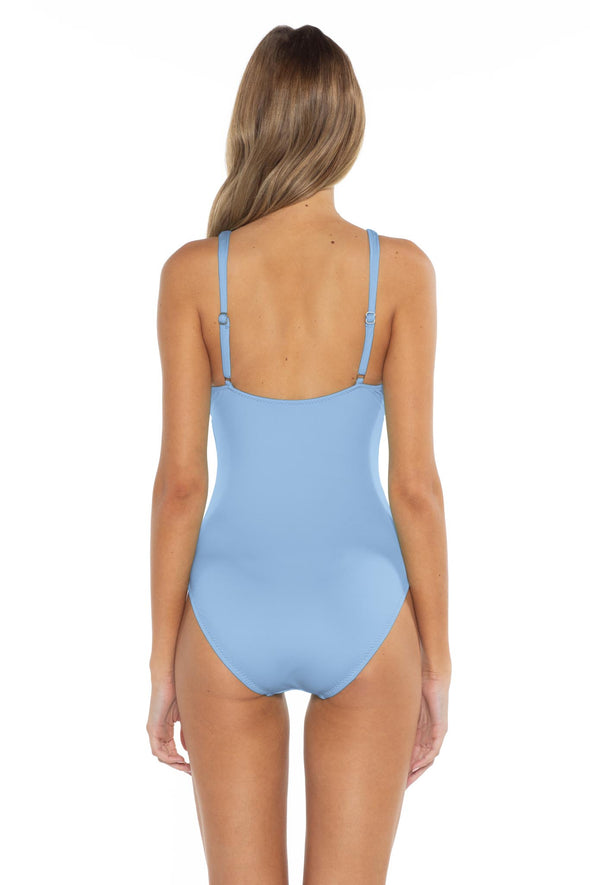 Color Splash Kate One Piece Sky Back