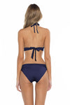 Color Splash Halie Bikini Bottom Navy Back
