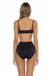 Mossimo Del Mar Hannah Bikini Bottom Black Back
