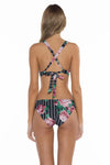 Mossimo Rosa Lacy Scoop Neck Bikini Top back