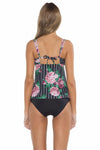 Rosa Shirley Scoop Neck Tankini Top Back