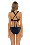 Seaside Samantha Bikini Bottom Black Back