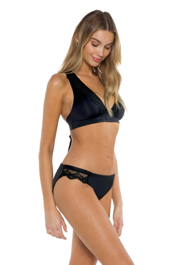 Seaside Samantha Bikini Bottom Black side