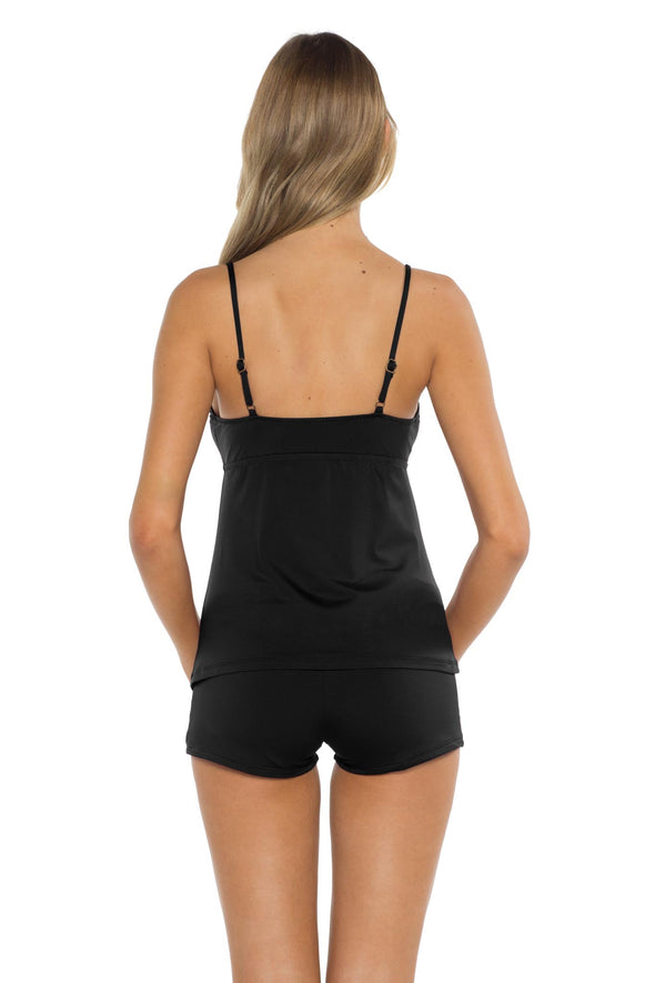 Mossimo Spell Bound Layla Tankini Top back