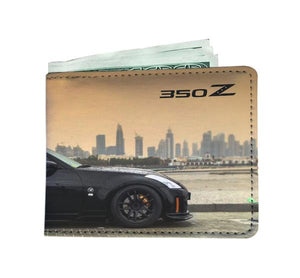 Black on Black 350Z Wallet
