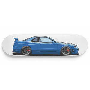 Stanced R34 Wall Art