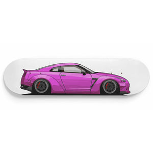R35 Skateboard Wall Art