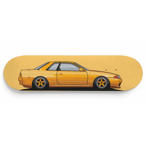 R32 Skateboard Wall Art Matched