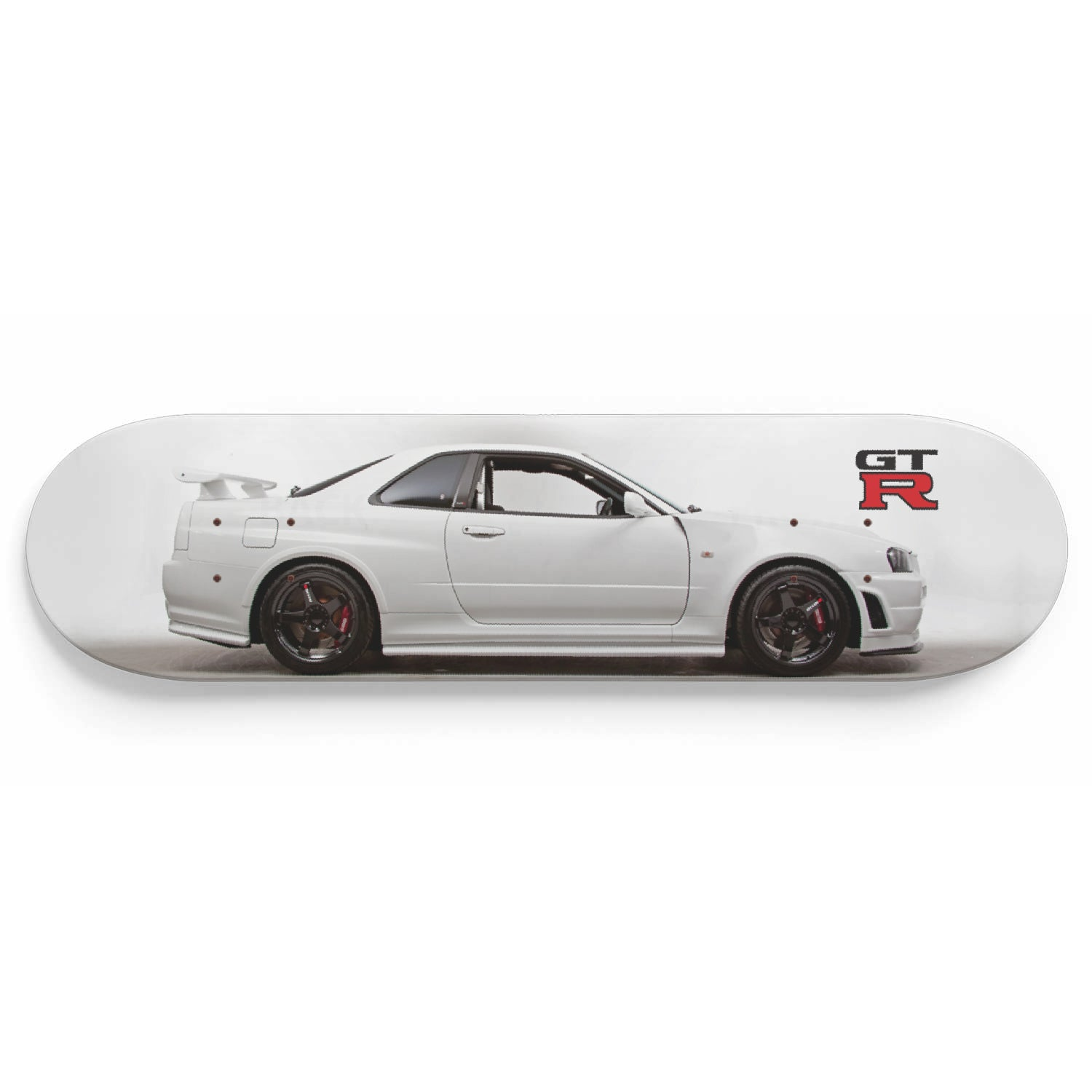 R34 Skateboard Wall Art