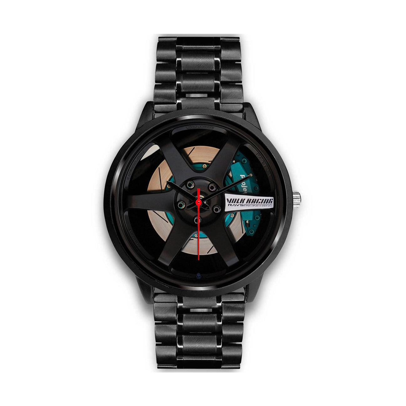 Black TE37 Rim Watch