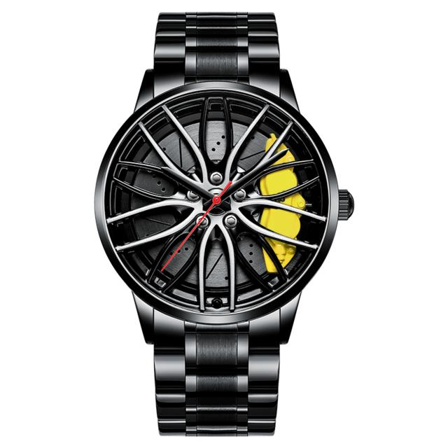 3D Sport Wheel Watch