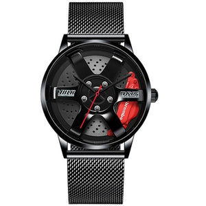 JDM Junkies™ TE37 Wheel Watch Mesh Band