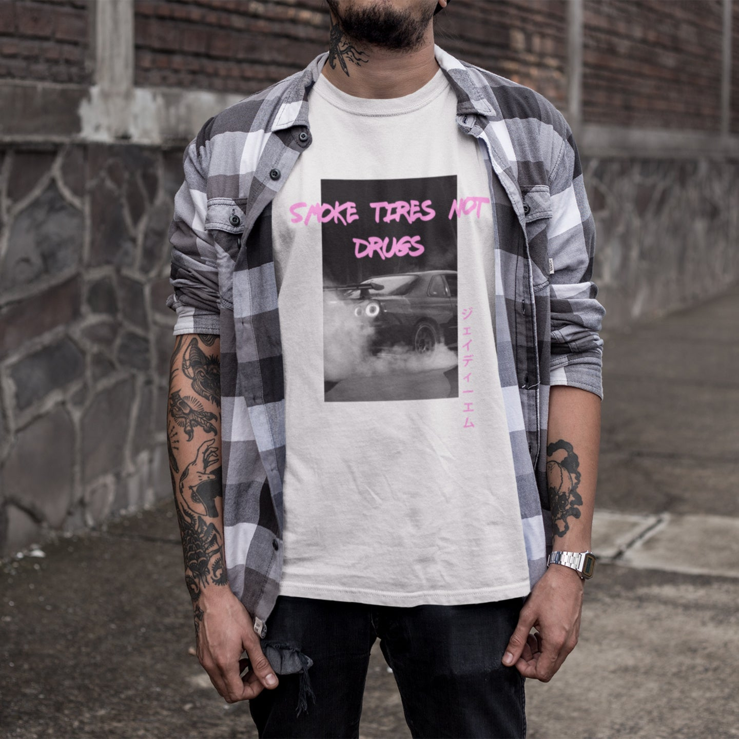 Smoke Tires Not Drugs T-Shirt